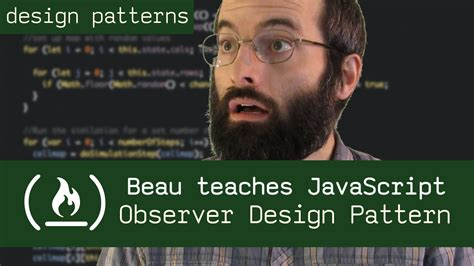 observer design pattern youtube observer design pattern beau teaches javascript youtube