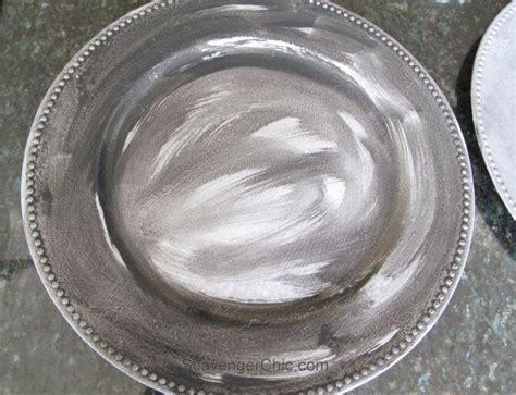 acrylic chalk paint diy antique tin plates no they re plastic hometalk