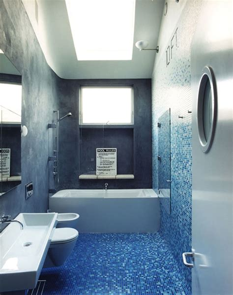 fresh blue black bathroom applications iroonie