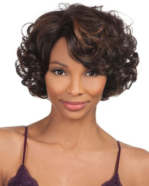 Curly Bob Hairstyles For Black Hair by Volumised Curly Hair Bob Hairstyles For Black