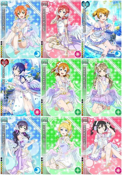 Angeli Set by White Day Set Live Cards Random