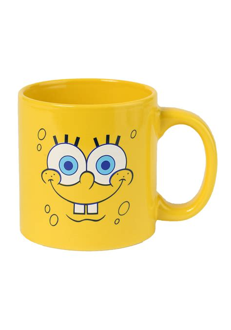 SpongeBob Big Faces Coffee Mug