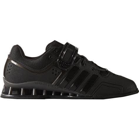 adidas adipower mens weight lifting shoes black start