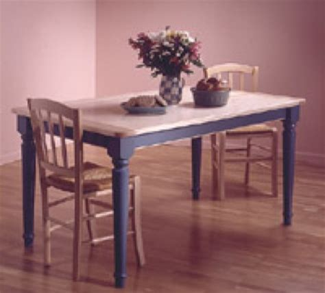 31 md 00011 country style kitchen table woodworking plan
