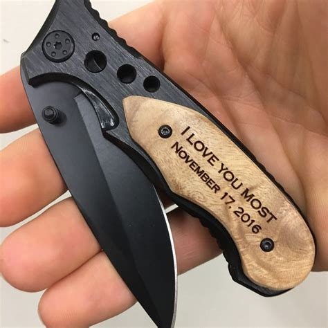 engraved pocket knife pocket knives anniversary gifts