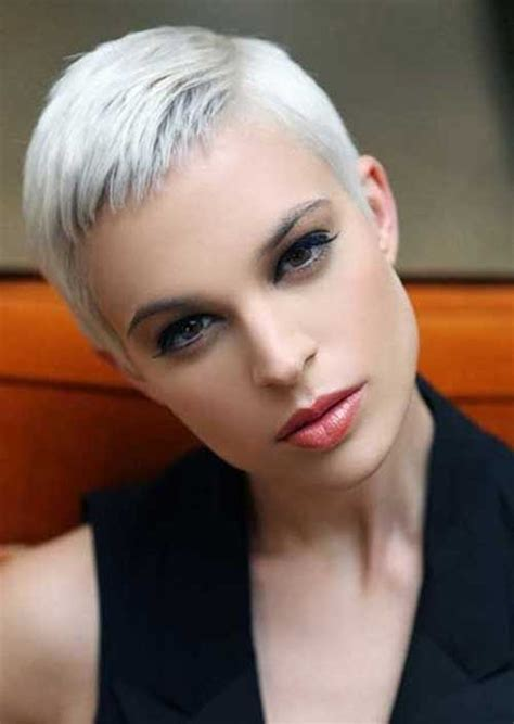 silver pixie hair cut short hair cuts on pinterest pixie cuts short