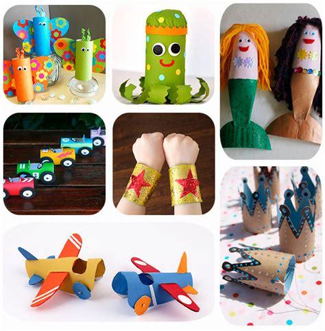 manualidades hechas con carton de animales 7 manualidades infantiles con rollos de papel pequeocio