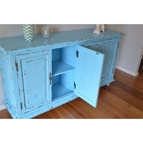 Rustic Kitchen Sideboard by Rustic Kitchen Buffet Sideboard In Vintage Blue Buy