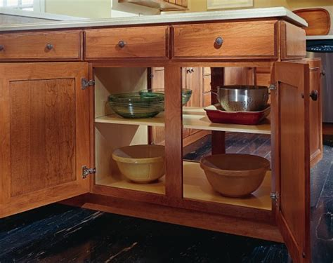 double sided kitchen cabinets aristokraft double sided peninsula cabinet cabinet and