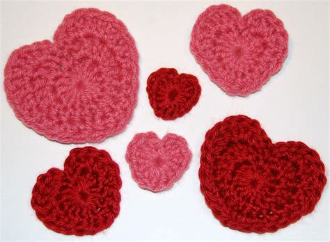 crochet hearts s day crochet patterns petals to picots