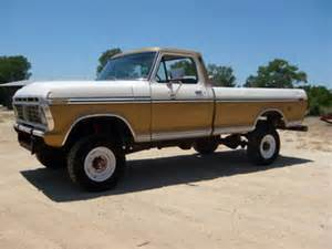 Ford F250 Highboy For Sale Vin F10hkt10753 Ford F 250 1974 Ford F250 Highboy 4x4