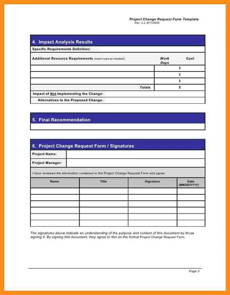 project request form sle email request form project