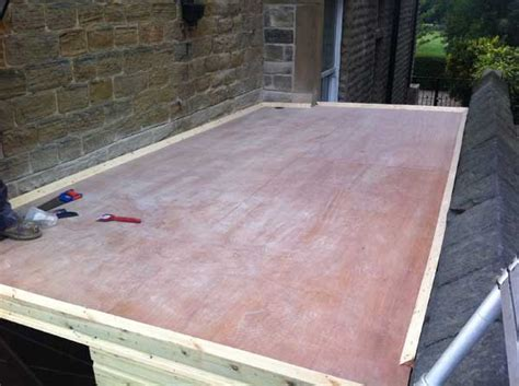 new epdm flat roof installed flat roof repairs huddersfield