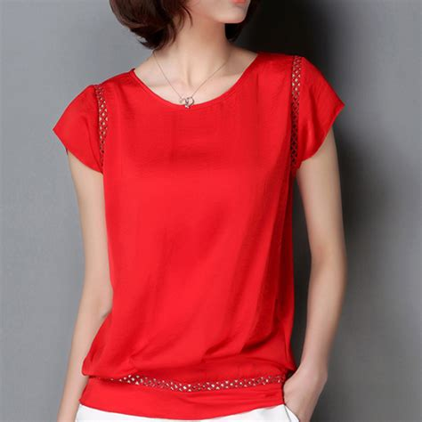 red blouses for women aliexpress com buy plus size office women shirts blouses