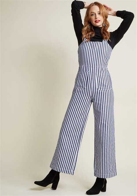 swing jumpsuit s 1940s style overalls blue