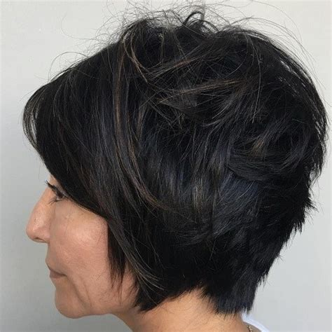 stacked bob haircut for women over 40 50 classiest hairstyles for women over 40 to 50
