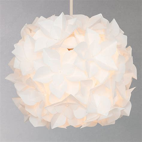 lotus flower pendant light buy lewis lotus easy to fit flower pendant shade