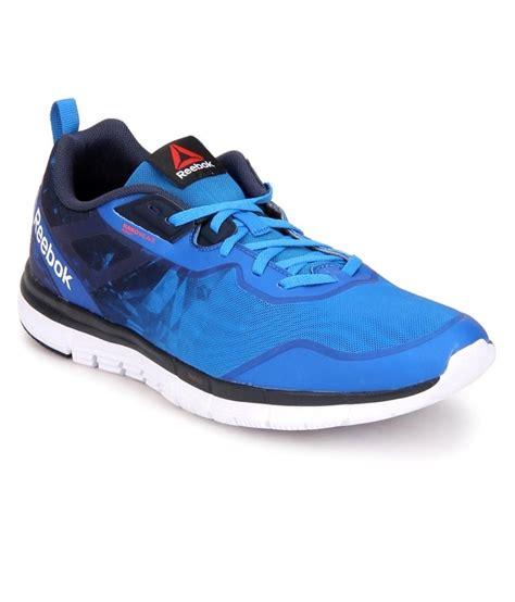 reebok sport shoes reebok blue sport shoes price in india buy reebok blue