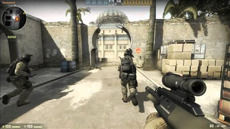 linux cs go gameplay counter strike global offensive gameplay single player