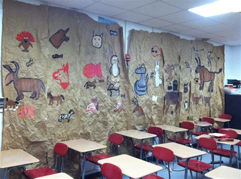 arts and craft for cave project this is awesome for the classroom