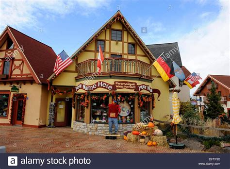 frankenmuth michigan bavarian village shopping district