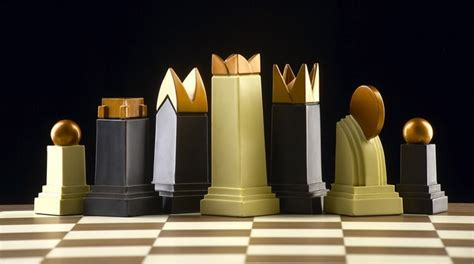 art deco chess set art deco themed chess set chess pinterest