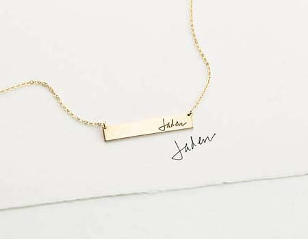 name necklace round up: the 10 best etsy shops