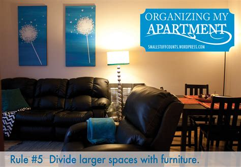 How To Organize A Living Room by Organizing Apartment 5 For A Small Living Room