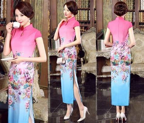 Dress Maxi Wanita Gaun Pesta Brokat Laxe Import Tasella Lace Xl jual abw dress maxi gaun pesta cheongsam imlek baju wanita korea import di lapak toko puji