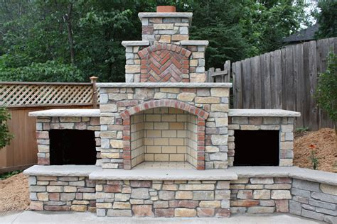 backyard chimney minneapolis outdoor fireplaces twin city fireplace