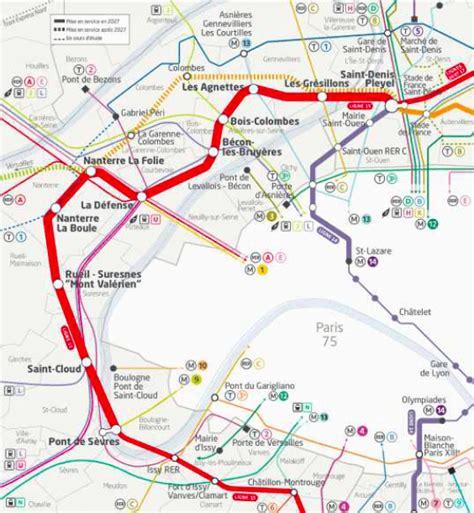 La Ligne Grangé by Le Grand Express Ligne 15 Ouest Courbevoix Le