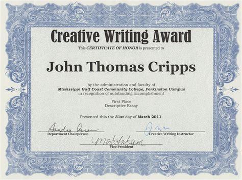 Best Award Essay by I Won An Award For My Essay Cripps