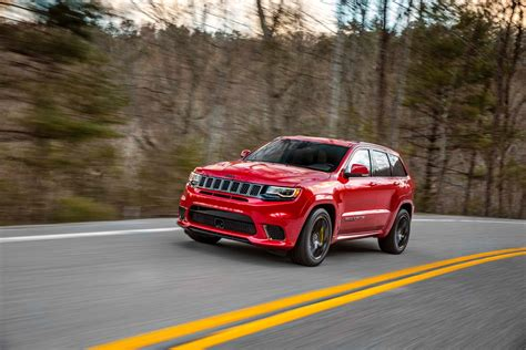 tesla jeep jeep says grand cherokee trackhawk is world s quickest suv