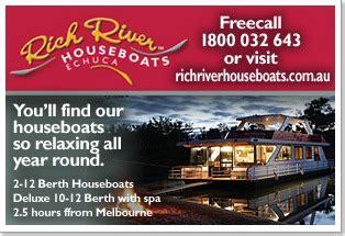 rich river house boats rich river house boats 28 images echuca accommodation from stayz echuca