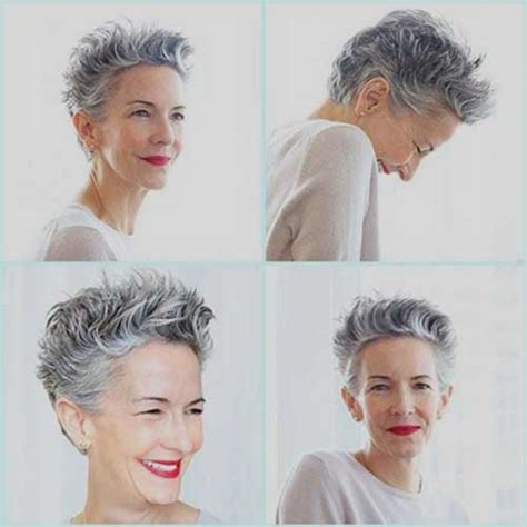 short curly grey hairstyles 2015 15 short pixie hairstyles for older women short