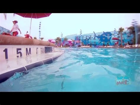 underwater audio in finding nemo pool at disney's art of