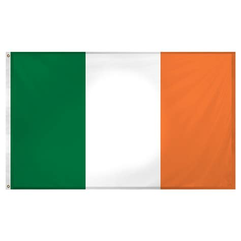 ireland flag 3ft x 5ft superknit polyester