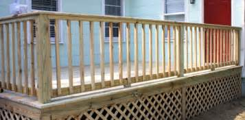 Deck Stair Handrail Height Code Building Handrails For A Wooden Deck Today S Homeowner