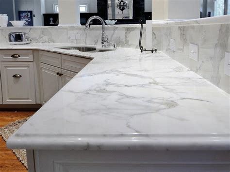 White Marble Countertops Photos Hgtv