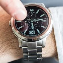 fossil q founder is a new android wear smartwatch that