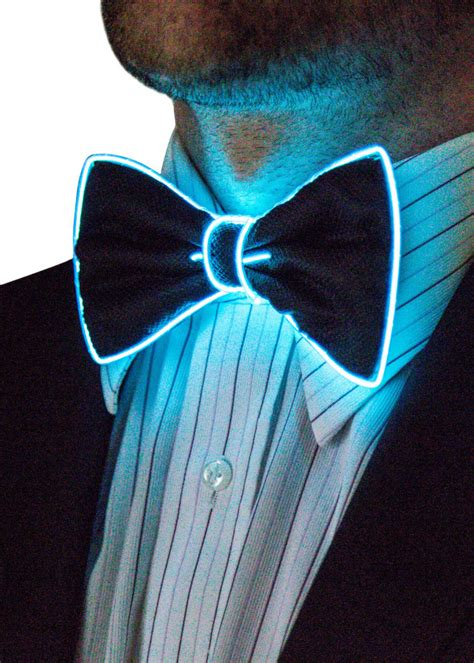 light up bow tie and suspenders light up bow tie neon nightlife