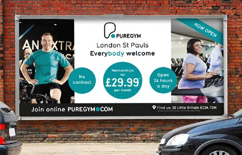 campaign design advertising marketing design puregym