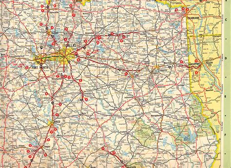 map of east texas texasfreeway gt statewide gt historic information gt road maps