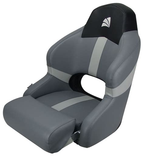 boat bolster seat boat seat sports bucket seat with bolster black carbon