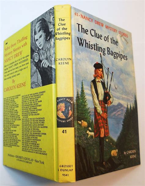 of books and bagpipes a scottish bookshop mystery books nancy drew 41 the clue of the whistling bagpipes picture