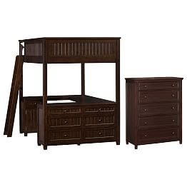 beadboard loft bed loft beds loft beds bunk beds pbteen