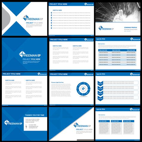 Powerpoint Design For Todd Self By Best Design Hub Design 4760188 Corporate Powerpoint Presentation Templates