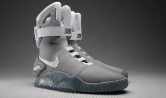 marty mcfly trainers back to the future marty mcfly s self tying trainers on