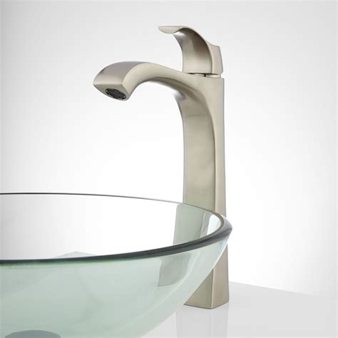 bathroom vessel faucets clayton single hole vessel faucet vessel sink faucets