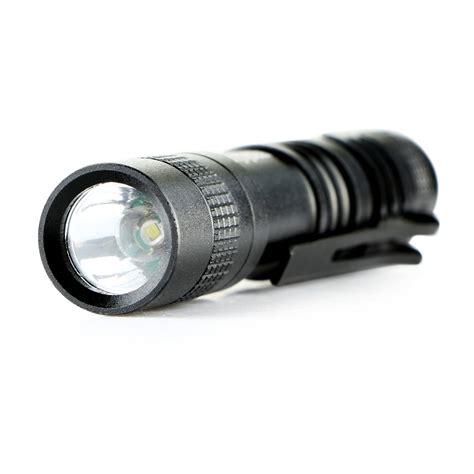 Senter Led Mini Xpe R3 cree xpe r3 led 1000 lumens l clip mini flashlight torch penlight aaa new ebay